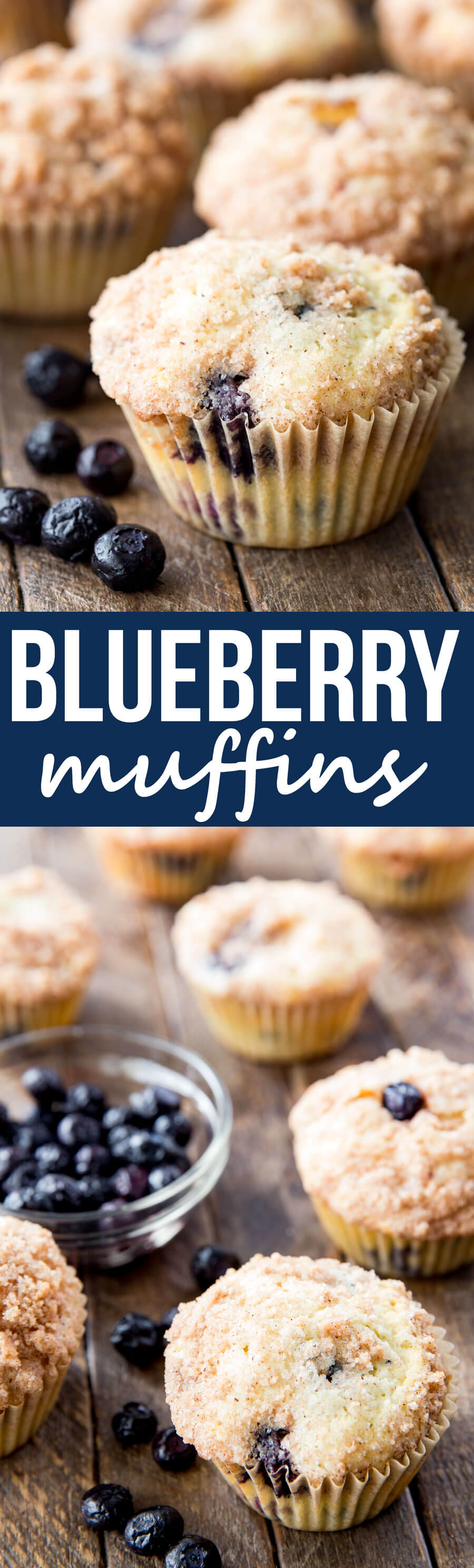 Blueberry Muffins are light, flaky and oh so delicious
