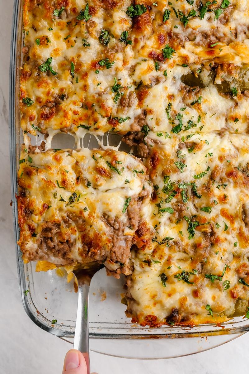 Chili Relleno Casserole Easy Peasy Meals