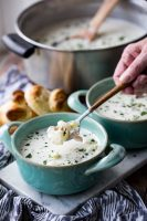 Easy creamy clam chowder is the perfect comforting bowl of soup