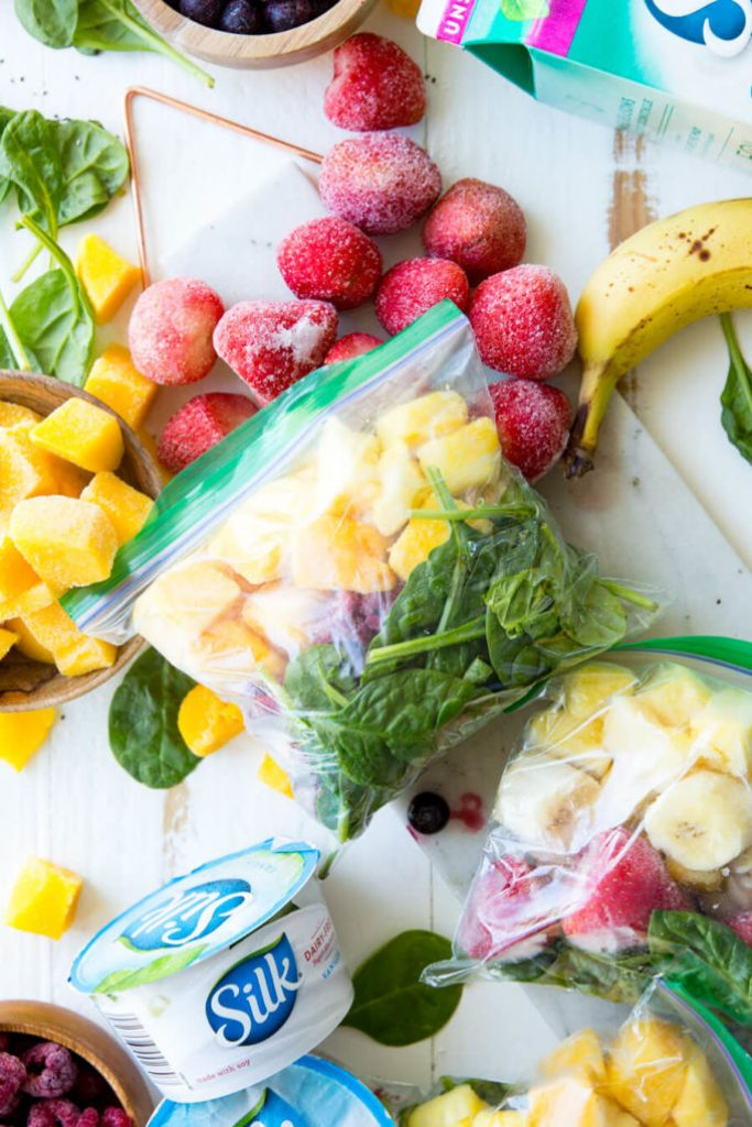 Freezer Smoothie Packs are a delicious drink option.