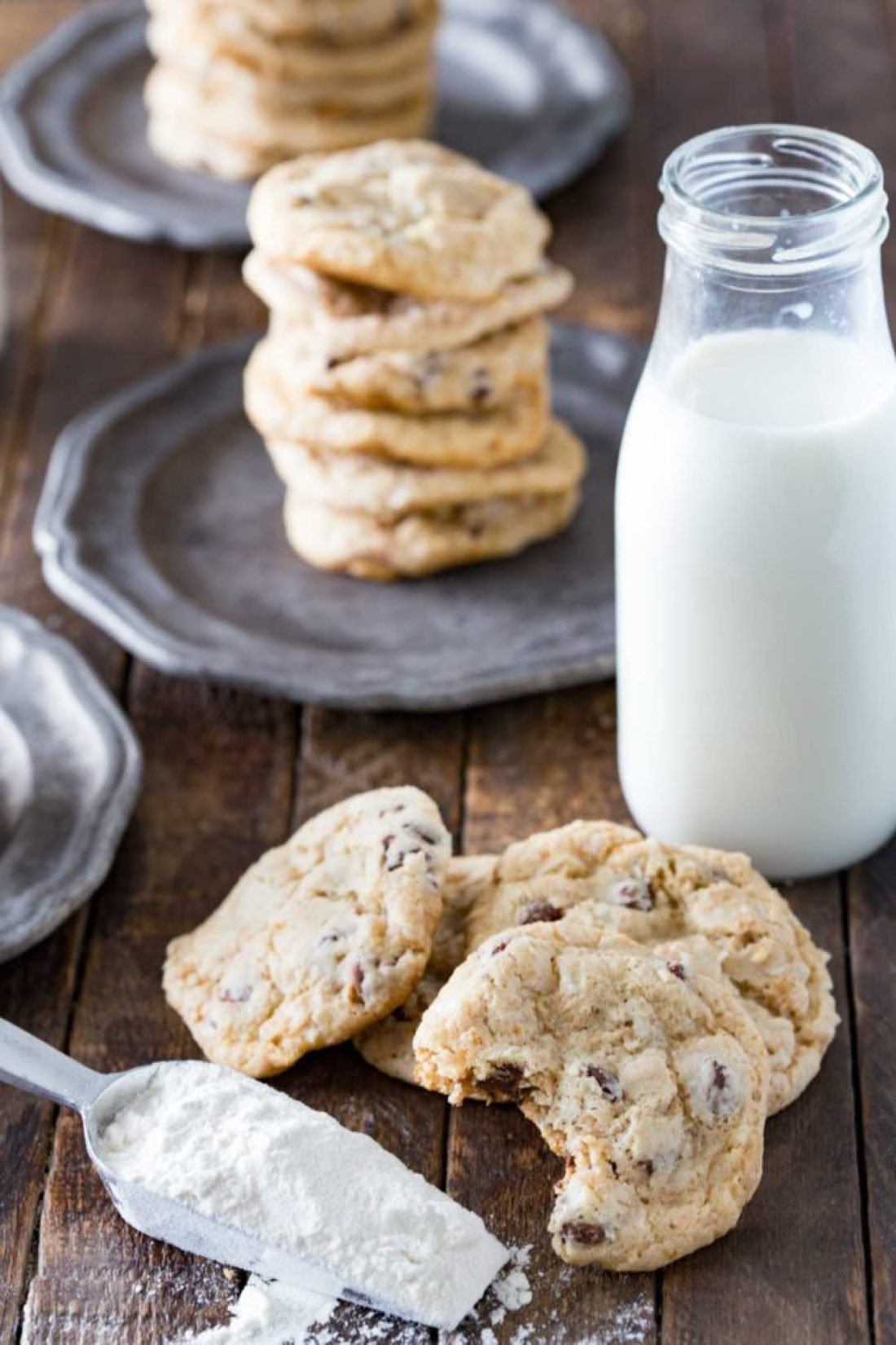 Graham cracker chocolate chip cookies are delicious and easy to make