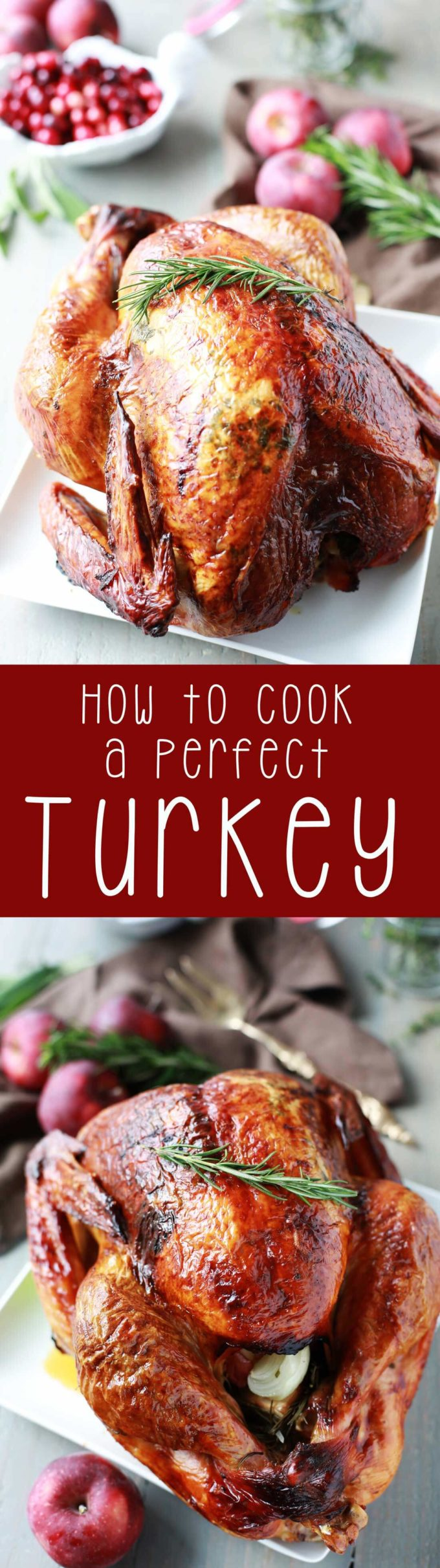 How to perfectly cook a thanksgiving turkey, and roast it in the oven.