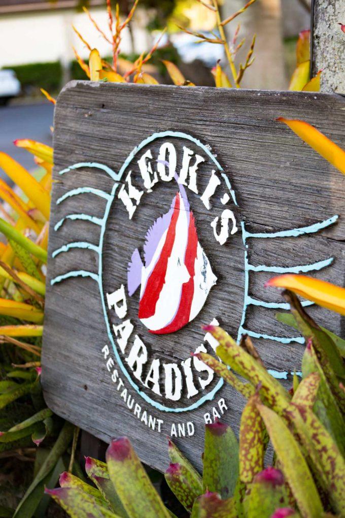 Keoki's Paradise is a flavorful restaurant in Kauai