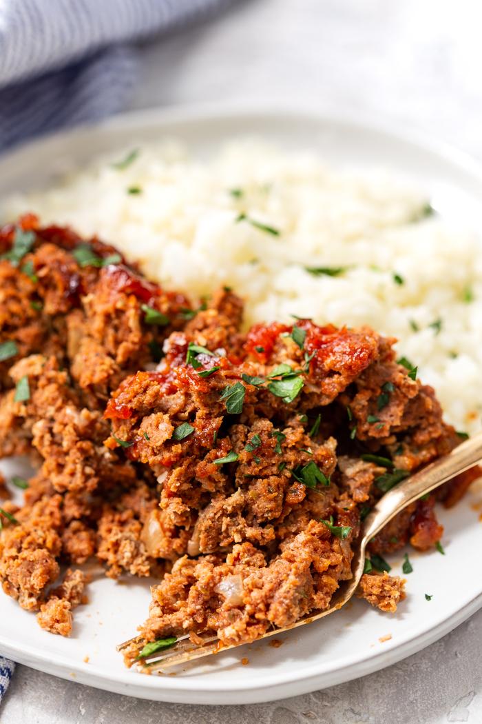 Keto meatloaf- a low carb meatloaf