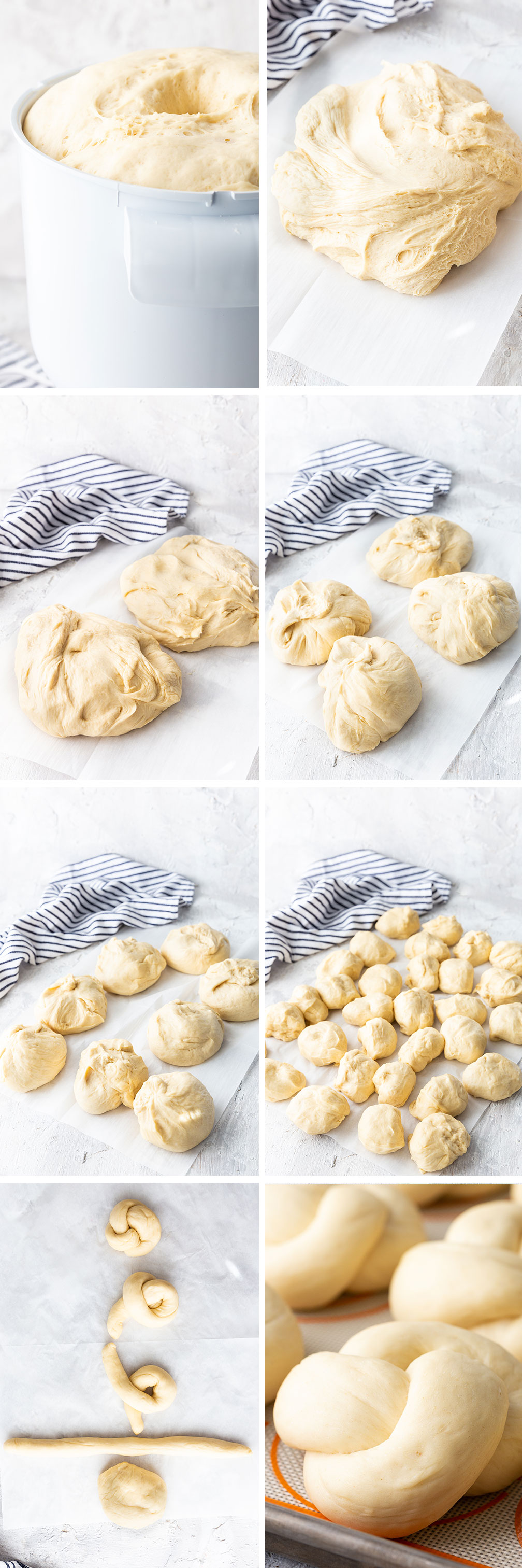 How to make the dinner rolls