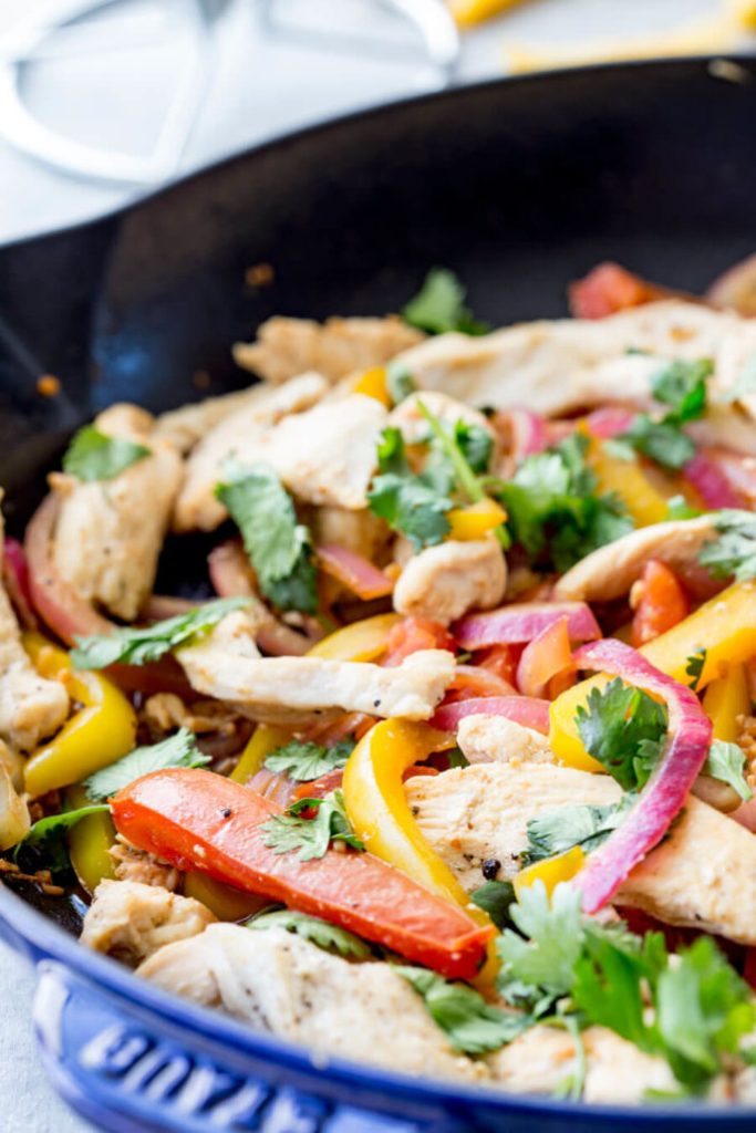 Pollo Saltadp Chicken Stir Fry