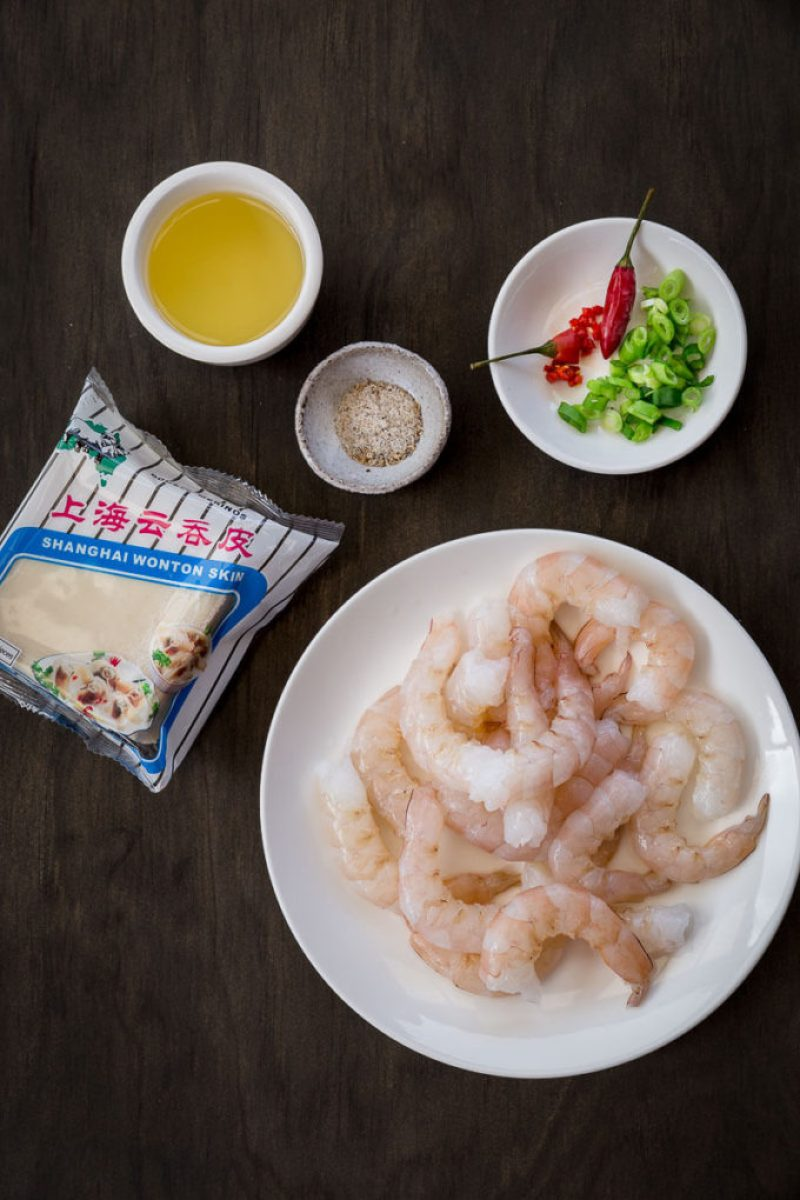 Here's something to impress your friends that's simple to make and packed full of spicy heat and mouthwatering flavor. These Spicy Prawns on Crispy Wontons are a must have for your next dinner party.