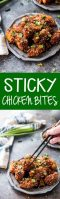Easy to make, delicious, oven baked sticky chicken bites