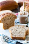 Whole wheat bread made from scratch
