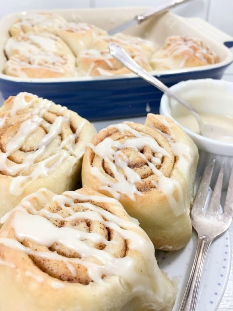 Simple Cinnamon Rolls, easy cinnamon rolls for breakfast or dessert