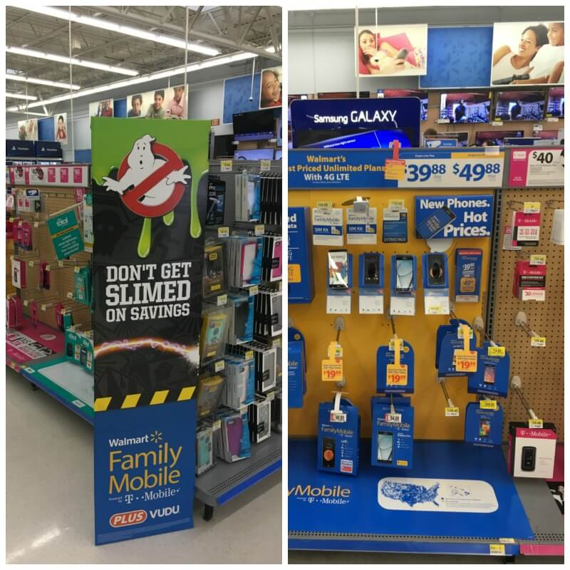 Walmart Family Mobile aisle