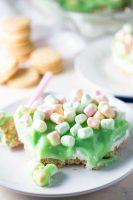 Lime dreamboat dessert