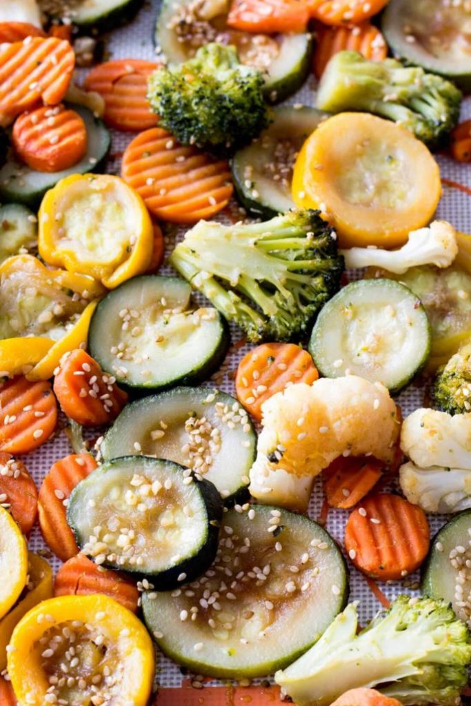 Asian inspired veggies
