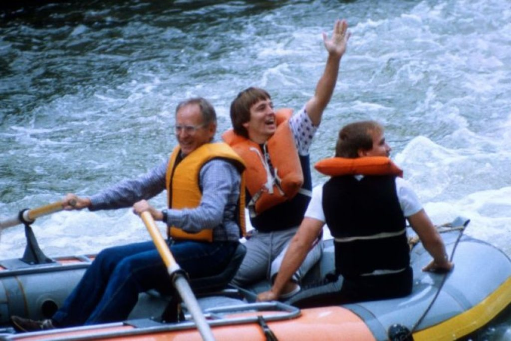 Rafting the salmon river