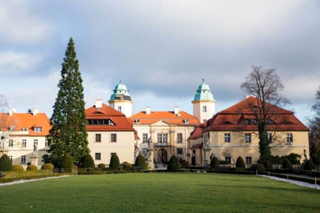 The hotels at Castle Ksaiz