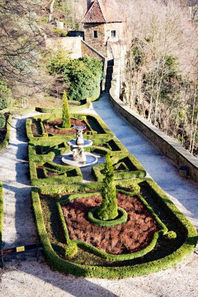 The gardens at Castle Ksaiz