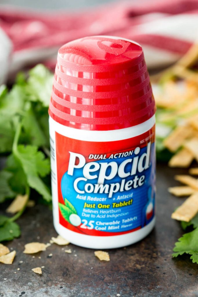 fight heartburn with pepcid
