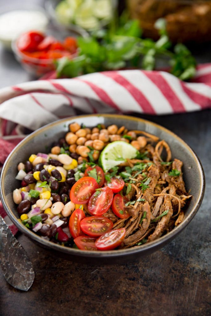 Pork pulse protein bowls are a delicious way to get more protein in your diet