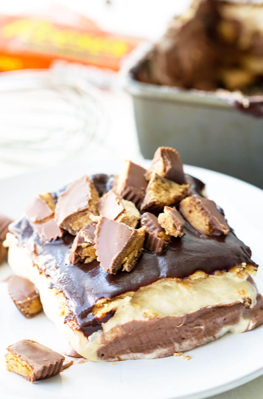 Reese's Ice Box Cake