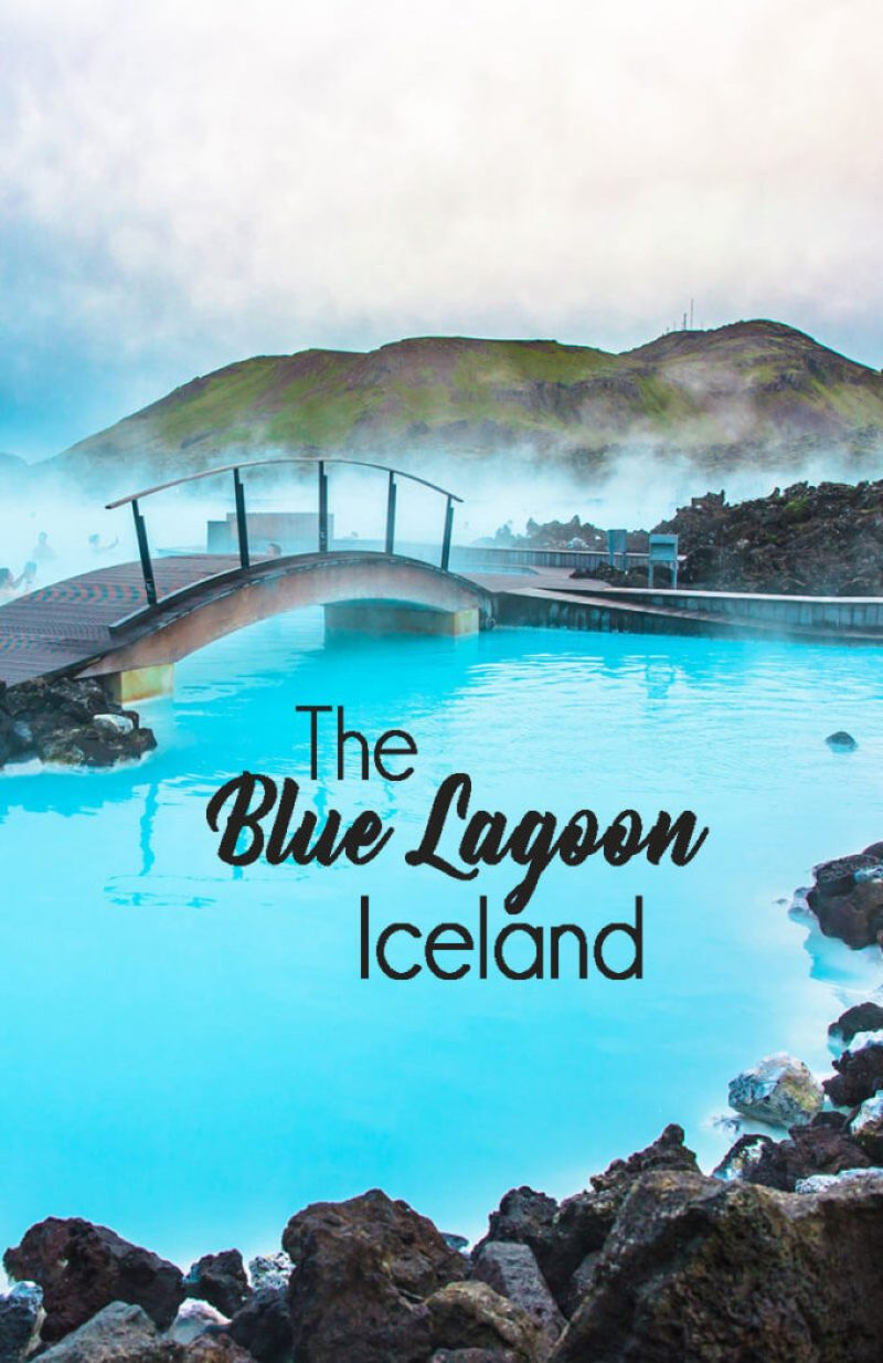 Soaking at the Blue Lagoon in Iceland