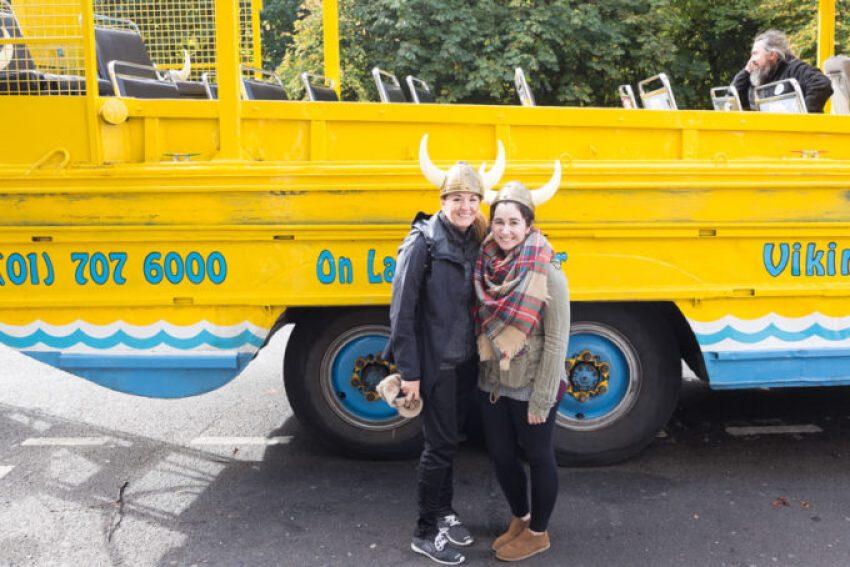 Viking Splash Tour in a duck boat in Dublin