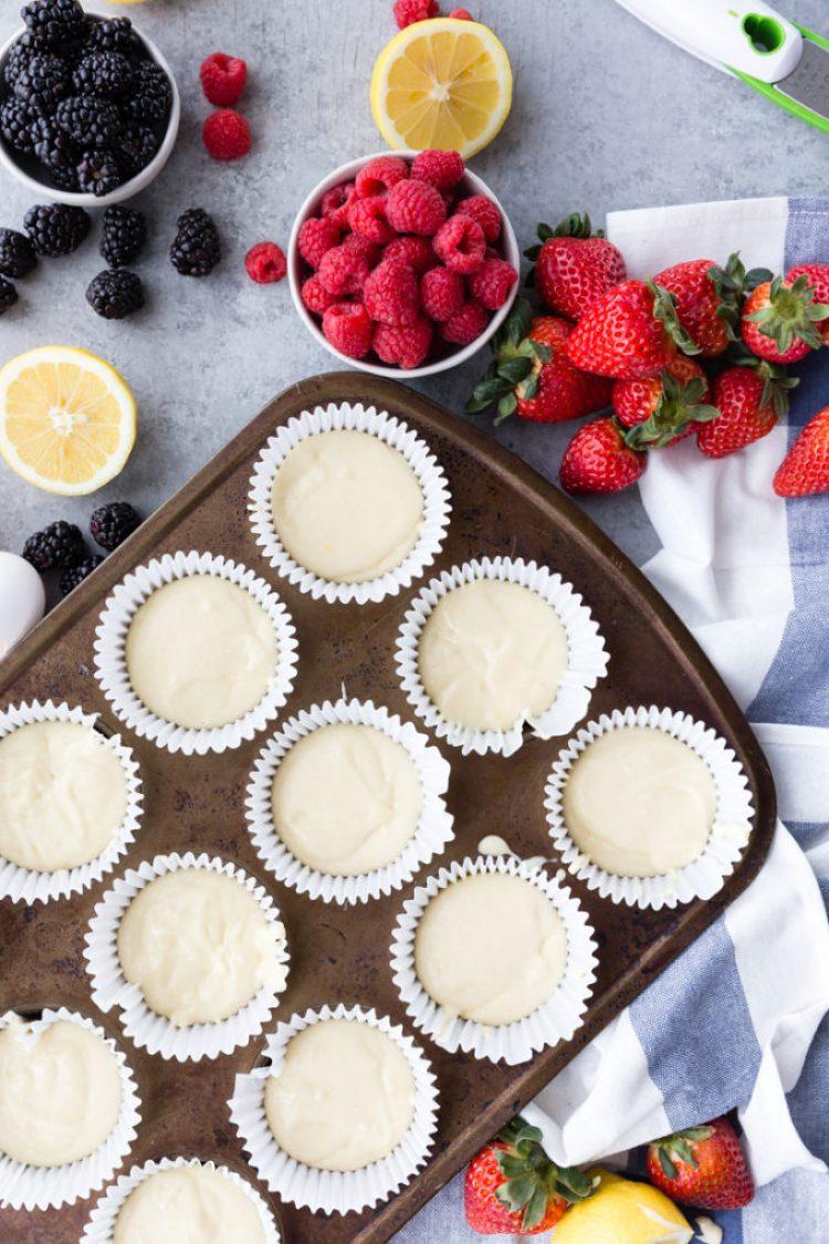 Lemon cupcakes with a lemon raspberry buttercream, start wit a cake mix but better than the box