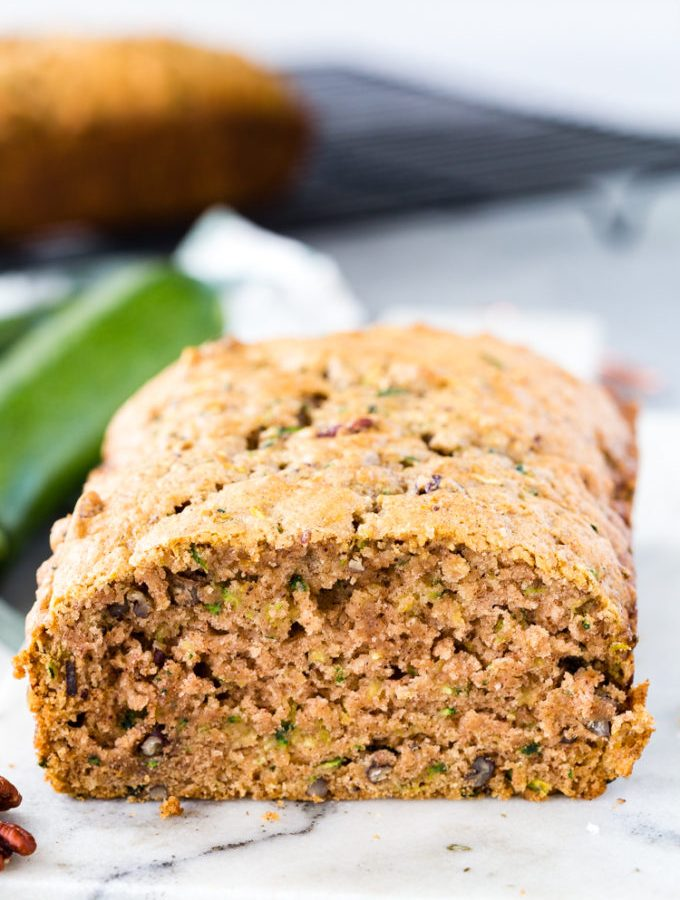Easy Zucchini Bread, great for using summer zucchini, wonderful texture, delicious, soft, tender, flavorful quick bread.