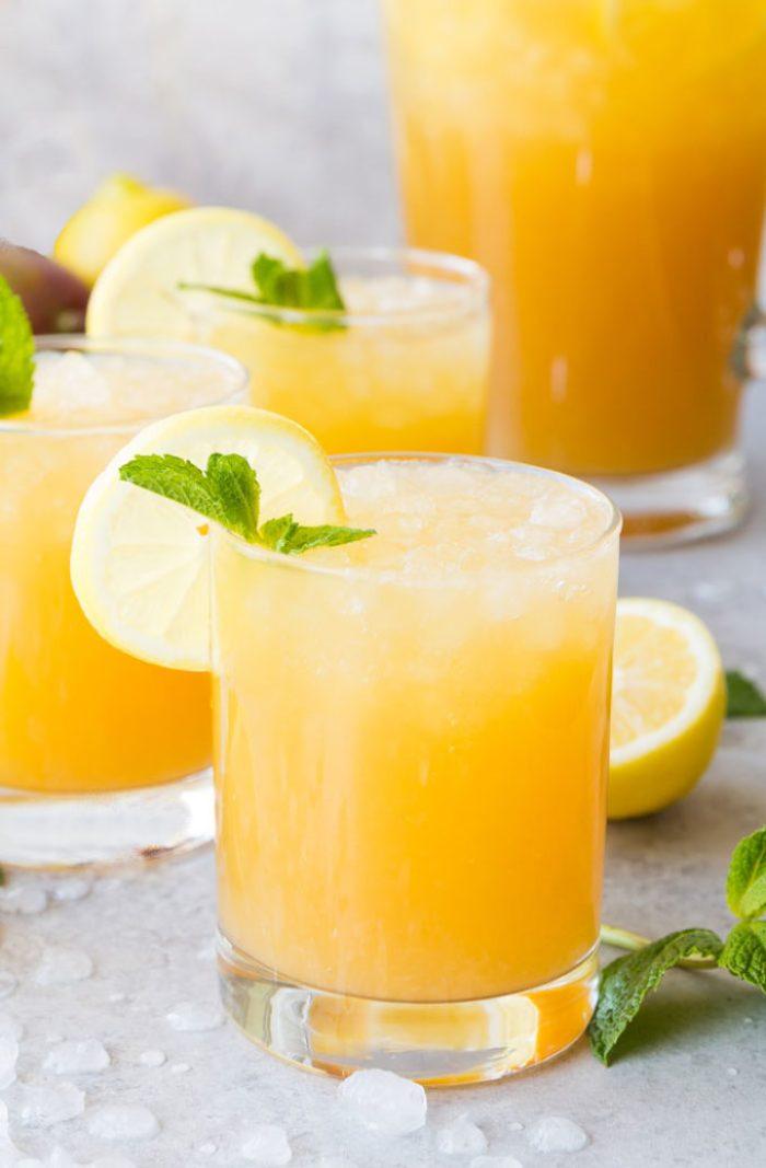 Mango Black Tea Lemonade