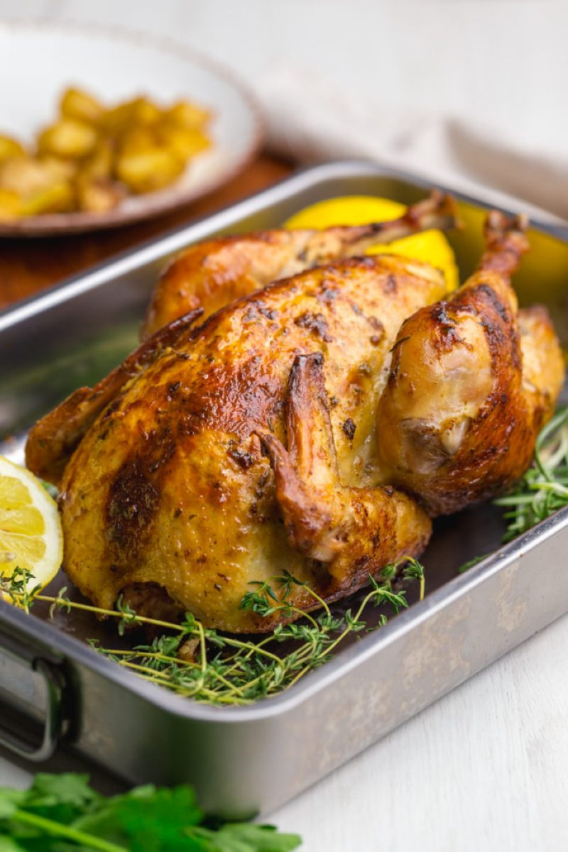Roast Chicken Recipe Easy Peasy Meals