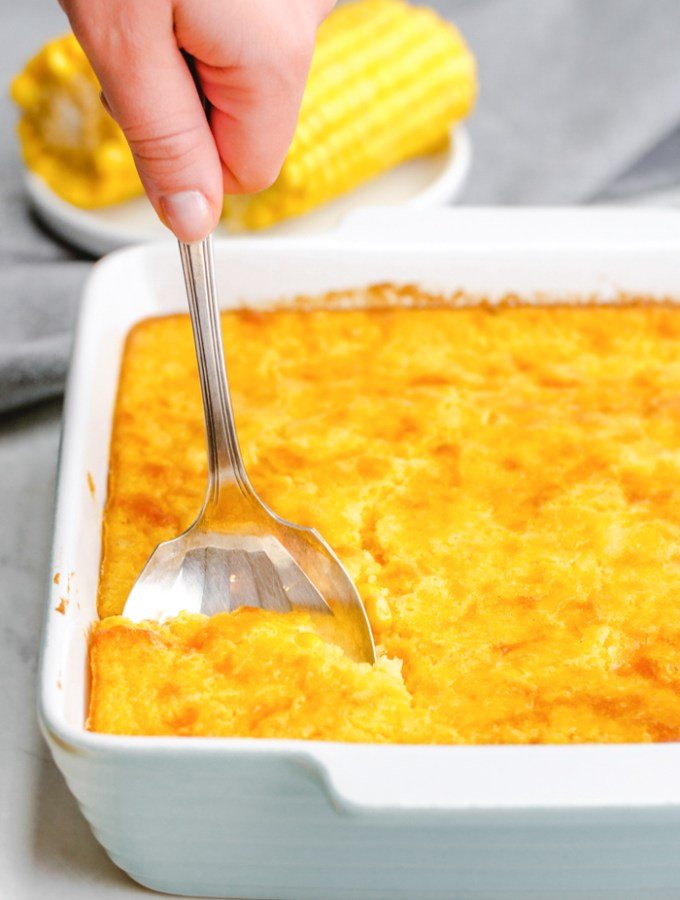 Easy to make corn casserole