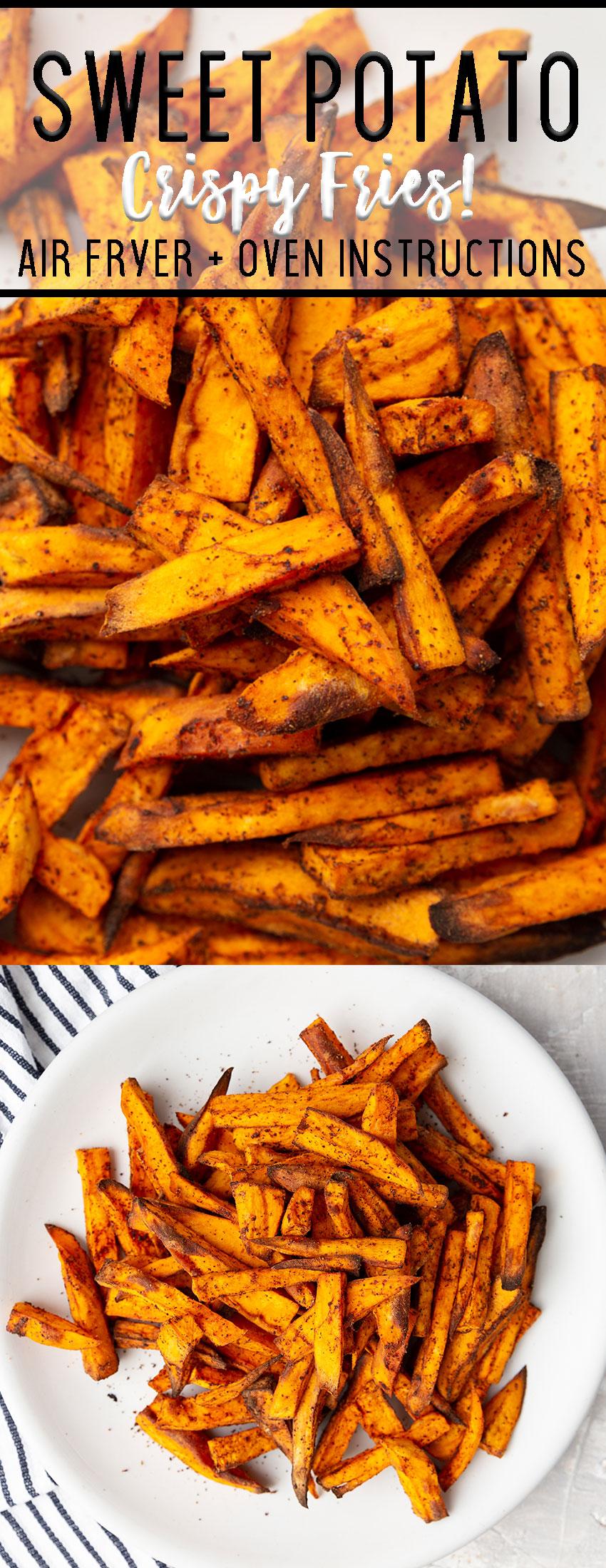 Sweet potato air fryer fries