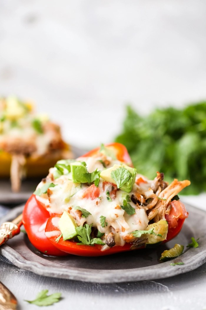 Easy to make pork stuffed peppers