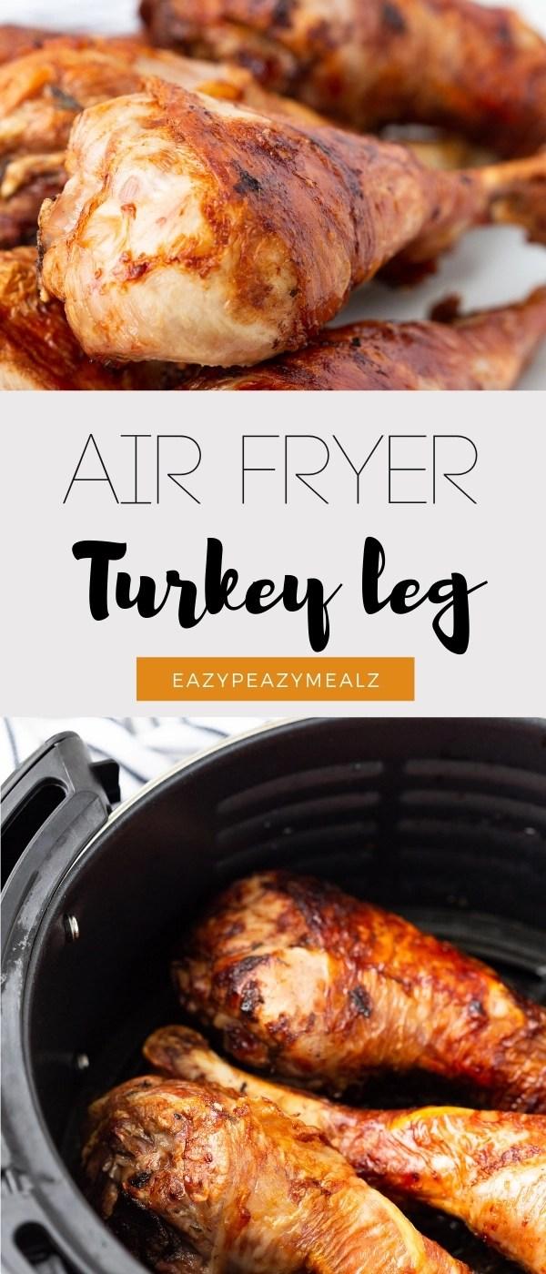 Air fryer turkey legs