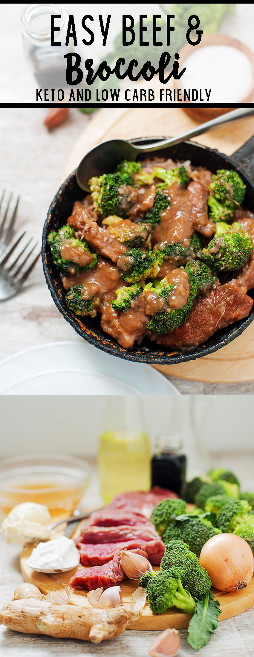 Keto beef and broccoli- a low carb solution for our favorite take out