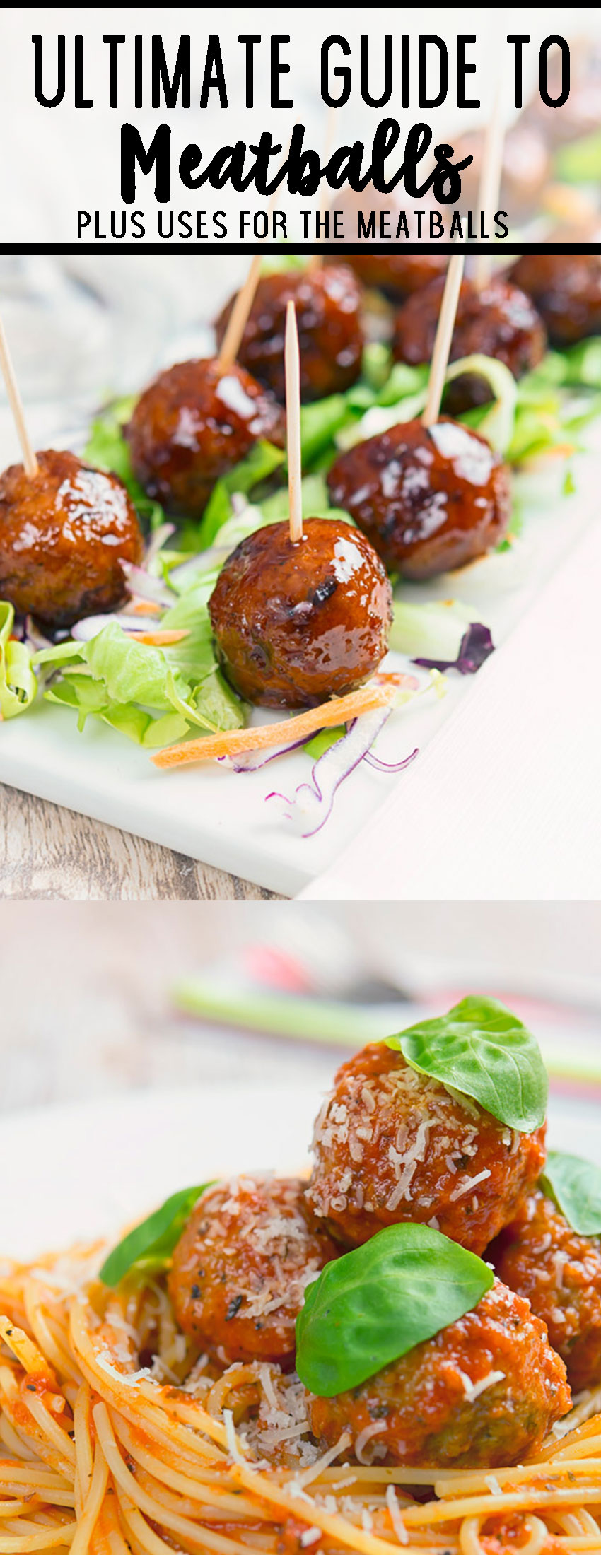 The ultimate guide to meatballs, how to make them and how to use them.