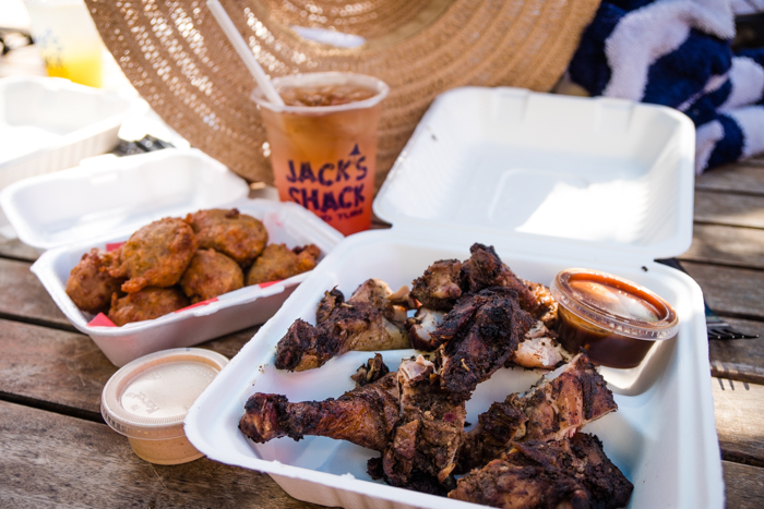 Jerk chicken from Jack's Shack