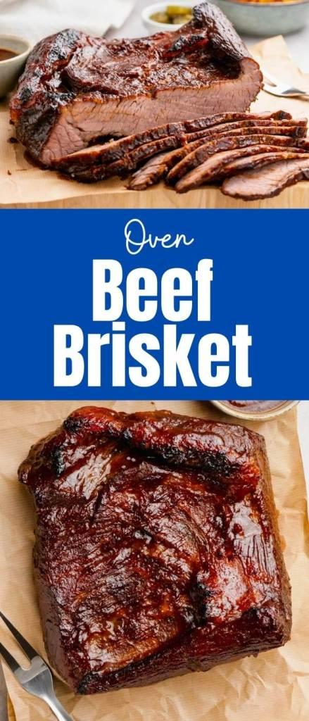 Oven Baked BBQ Beef Brisket