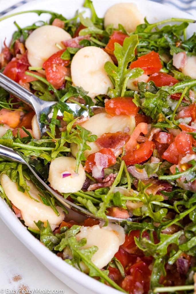 Bacon Lettuce Tomato Potato Salad