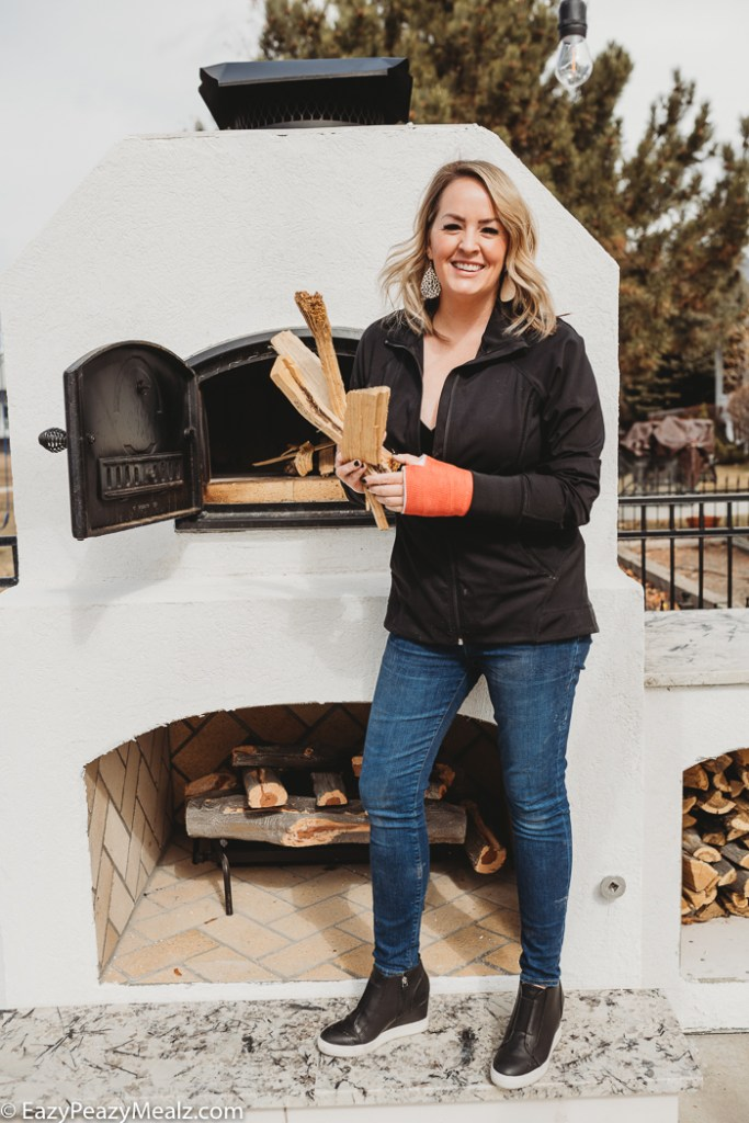 What you need to buy for firewood for a wood fired oven