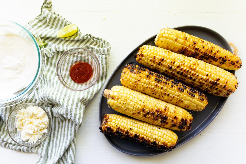 Making Elote, or Mexican Street Corn