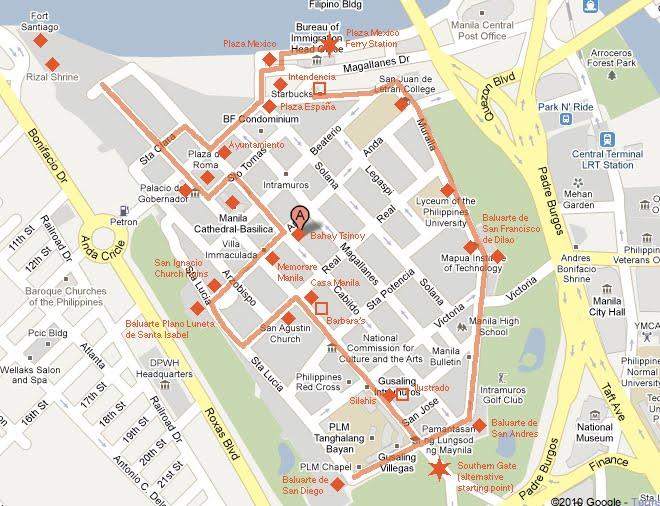 Intramuros Walking Tour Manila