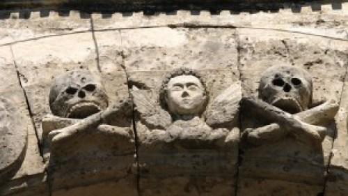 San Joaquin Cemetery - Detail