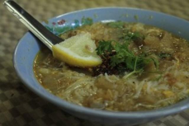 Mohingar (Fish Rice Noodle Soup)