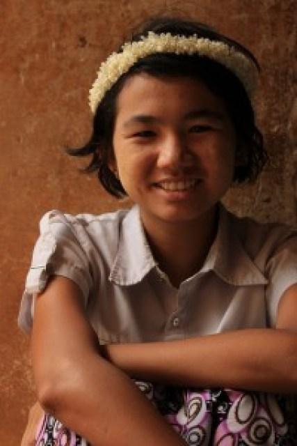 Girl at Sulamani Temple