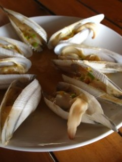 Baked Diwal (Angel Wing Clams)