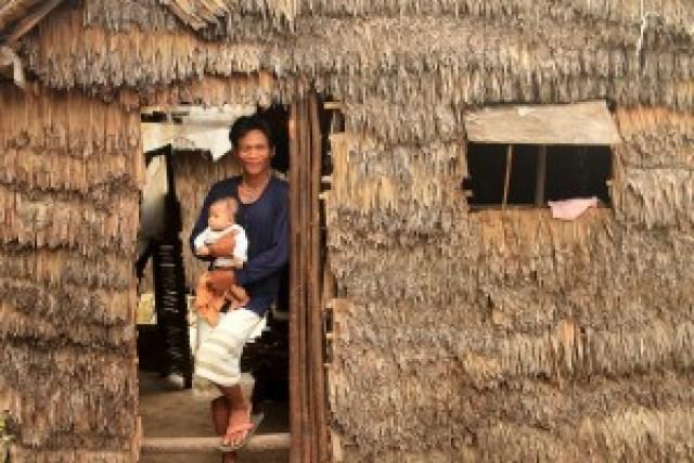 Native house at Guinahoan Island