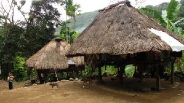 Ifugao Huts at Poitan Village