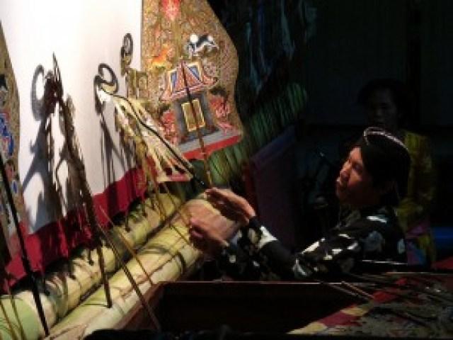 Wayang Kulit (Shadow Puppet) Show
