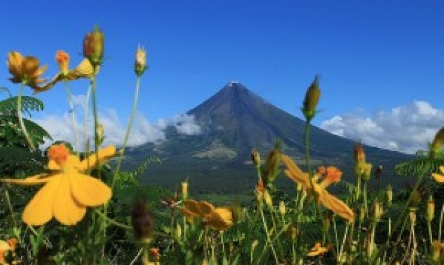 Mt. Mayon from Ligñon Hill