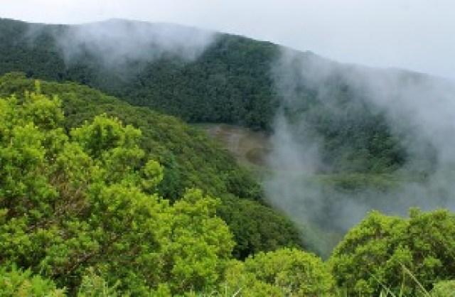 Mt. Hibok-Hibok Crater